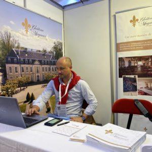 Première participation du Château au salon SBE du 13 au 14 septembre 2021